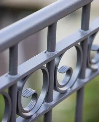 Ringdekor in pulverbeschichteter Ausführung und in anthrazit