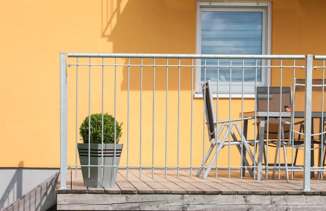 Geländer Ancona - feuerverzinkt