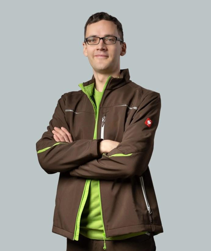 Mitarbeiter Aaron Gers