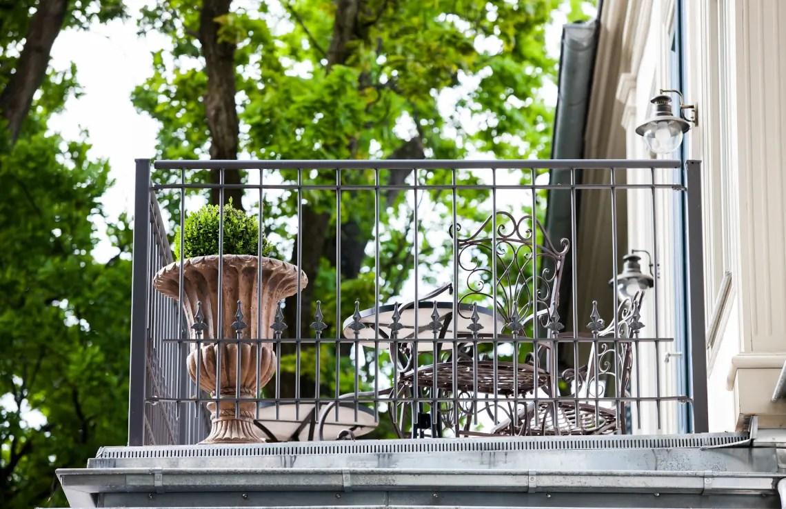 Klassisches Geländer Lucca