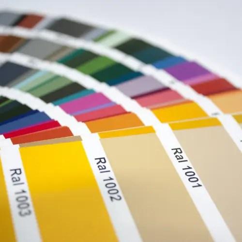 Farbbogen RAL Farben