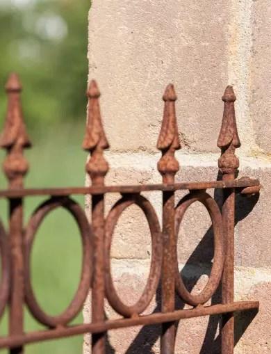 Zäune aus Schmiedeeisen