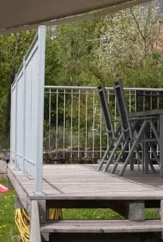 Geländer Bausatz Ancona in feuerverzinkter Ausführung