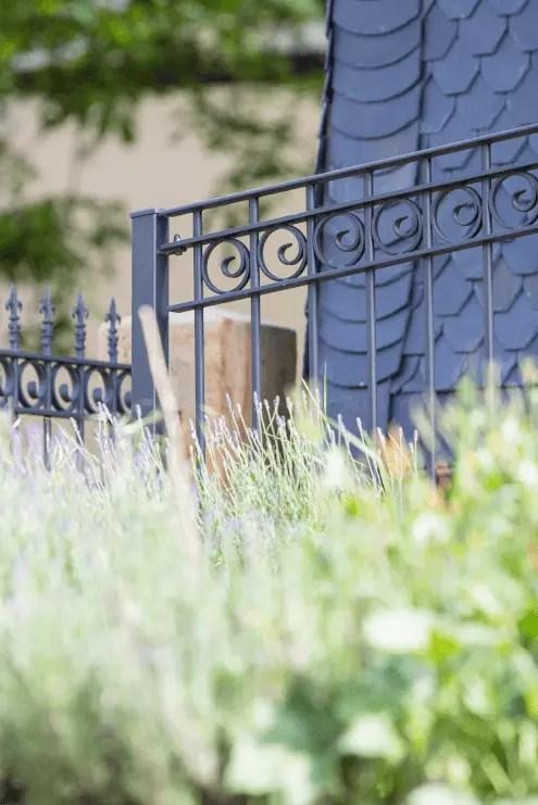 Terrassenzaun & Geländer Bologna pulverbeschichtet