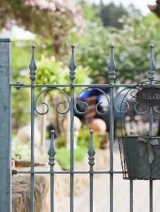 Gartenzaun Luggano in feuerverzinkter Ausführung
