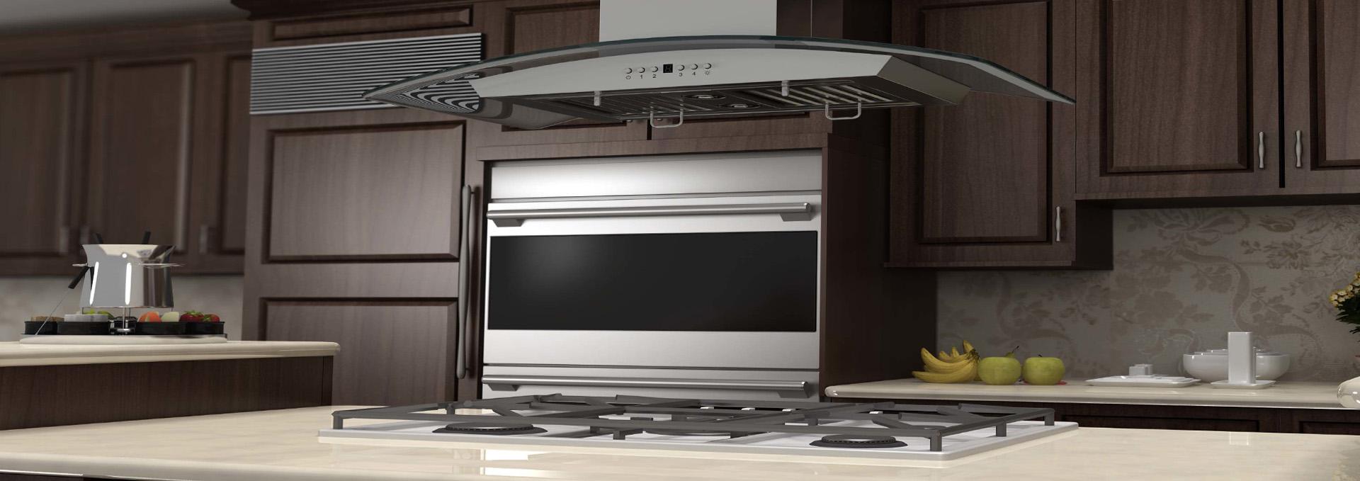 island kitchen hood ikea oak cabinets range extractor cfm manufacturer