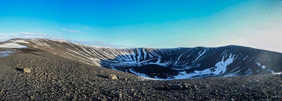 Il vulcano Hverfjall