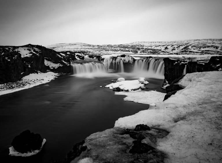La cascata Goðafoss