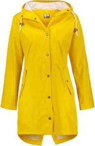 Giacca impermeabile gialla
