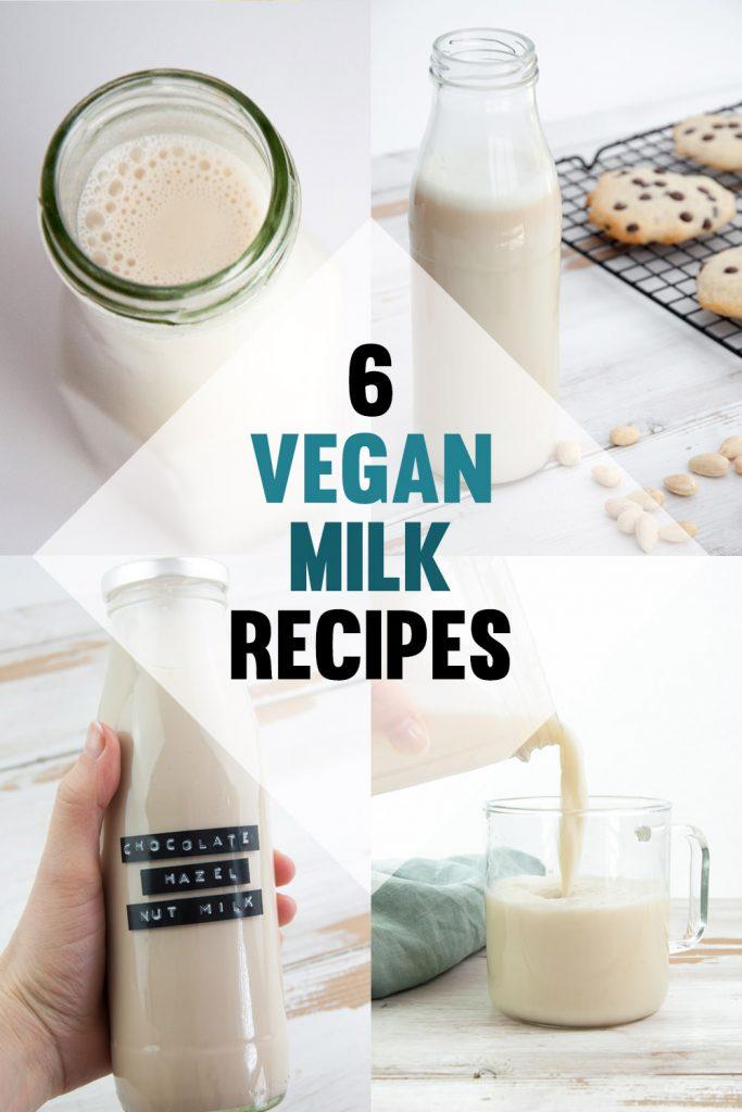 Vegan Milk Recipes