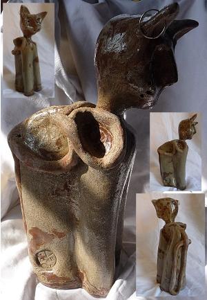 chat bicolore (nériage) cuisson haute température