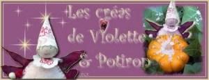 Les créas de Violette et Potiron
