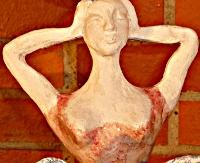 """femme partie du totem """"elephemme"""" © Michèle Ruffin"""