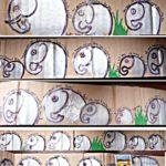 montage photo de bouts de la banderole de La Rêvière__