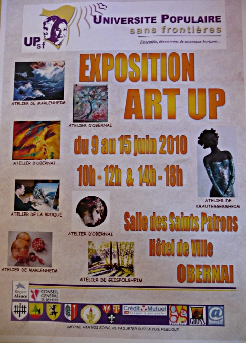 ART UP 2010 - Obernai