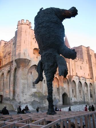 elephant en bronze - miquel barcelo -  Avignon