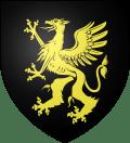 De sable au griffon d'or _ Blason de Furdenheim 67 (Bas-Rhin)