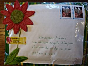 Princesse Salomé / son altesse royale d'un jour  /Chateau du centre courier / 83560 Rians / France