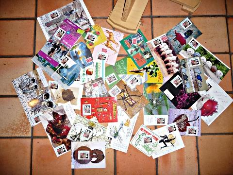 Envoi art postal prévu le 27 novembre 2010