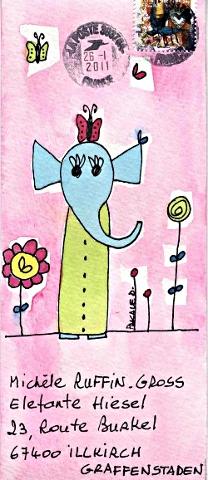 mail art Pascale D _ janv11