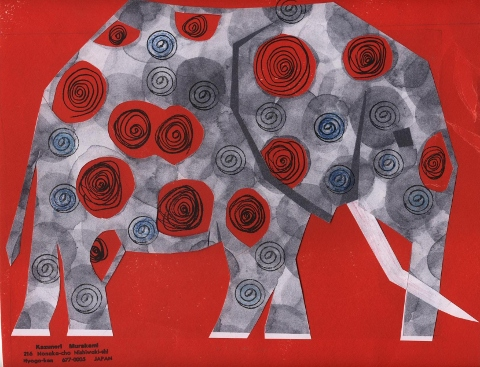Kazunori M - art postal fevrier11