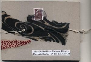 Art Postal Daniella fevrier 2011 - couverture fascicule