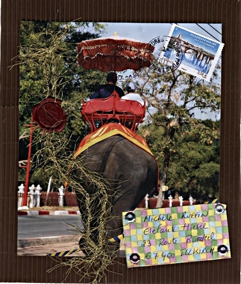 mail art postal juin