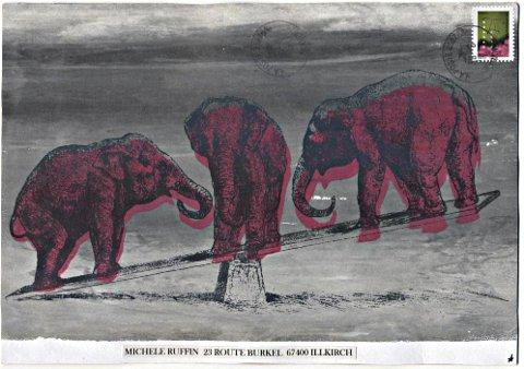 art postal juillet - Anne