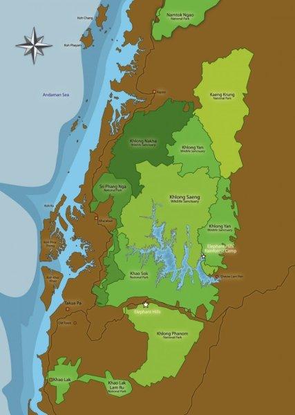 Khaosok-Map