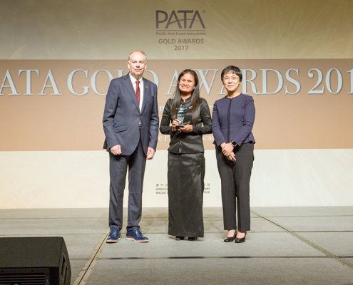 """PATA Grand Awards 2017, under the category of """"Environment – Ecotourism Project"""""""