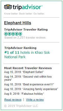 Elephant Park Thailand - Nature Tours & Luxury Tents