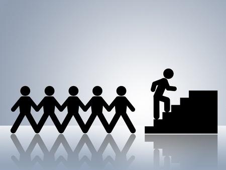 How Cliques Impact Career Trajectory