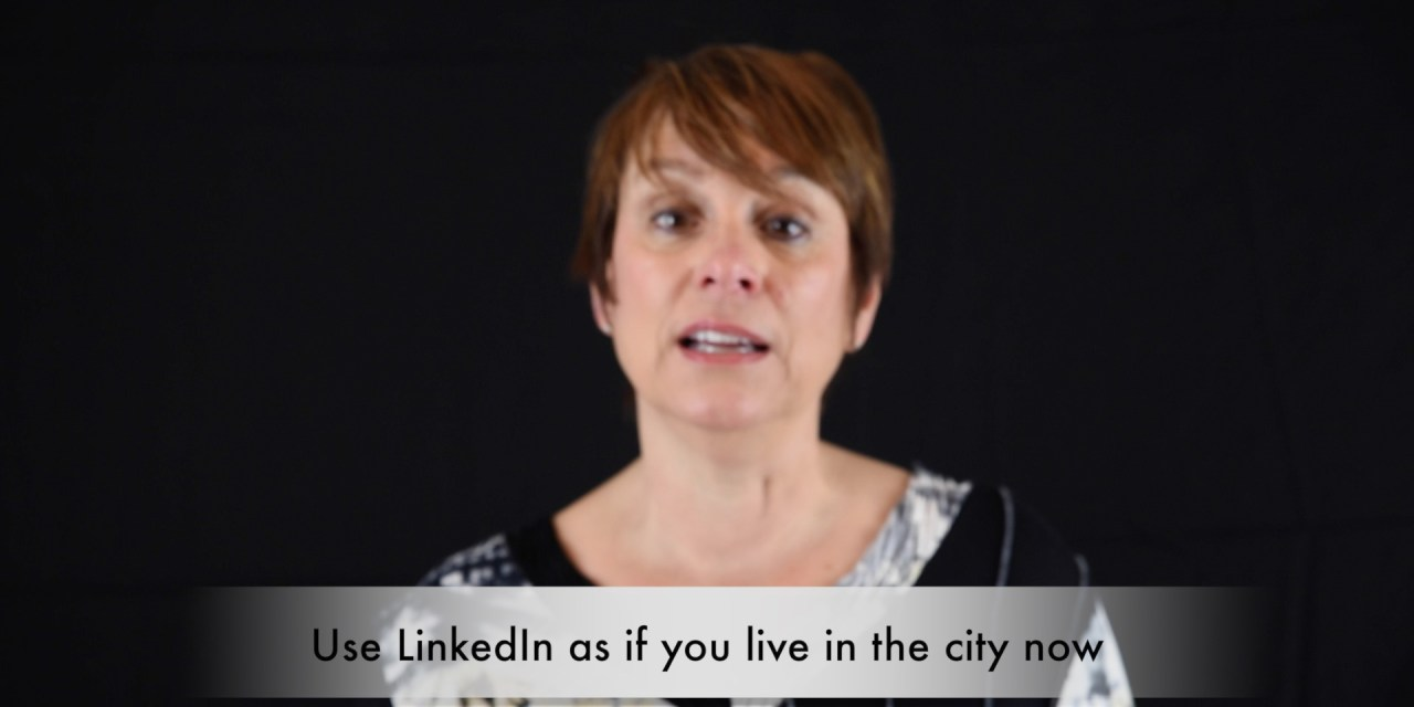 Career Breakthrough Tip #4 Finding a Job in a New City