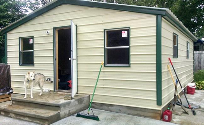 Economical Tiny Home Pre Engineered Metal Building