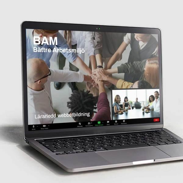 BAM Bättre Arbetsmiljö - Lärarledd Webbutbildning
