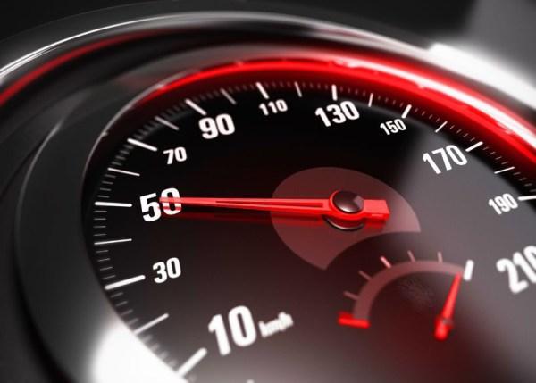 geschwindigkeitsupgrade