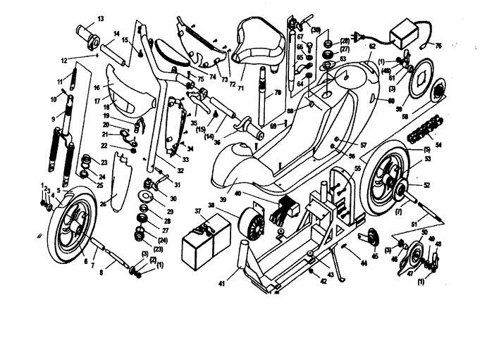 Terminator Scooter Wiring Diagram Terminator ES-04 Scooter