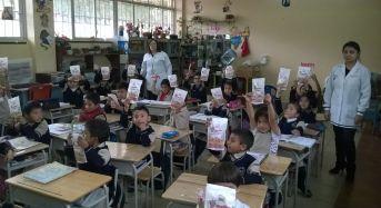 3.744 kits dentales entregados en escuelas del sector rural