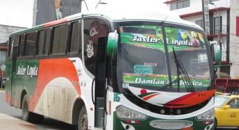 """A buses de la cooperativa """"Javier Loyola"""" cambiarán de color"""