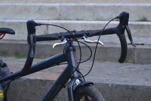 5141 Montare leve freno ciclocross 12