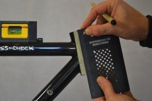 5502 Montiamo la bici serie sterzo trittico leve Surly Cross Check 41