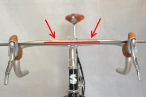 5576 Montiamo la bici serie sterzo trittico leve Surly Cross Check 115