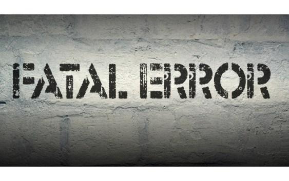6184 Fatal error