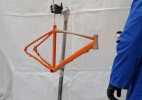 Verniciatura telaio bici fai da te, parte terza