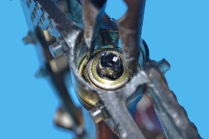 Manutenzione dei pedali flat sfilare rondella