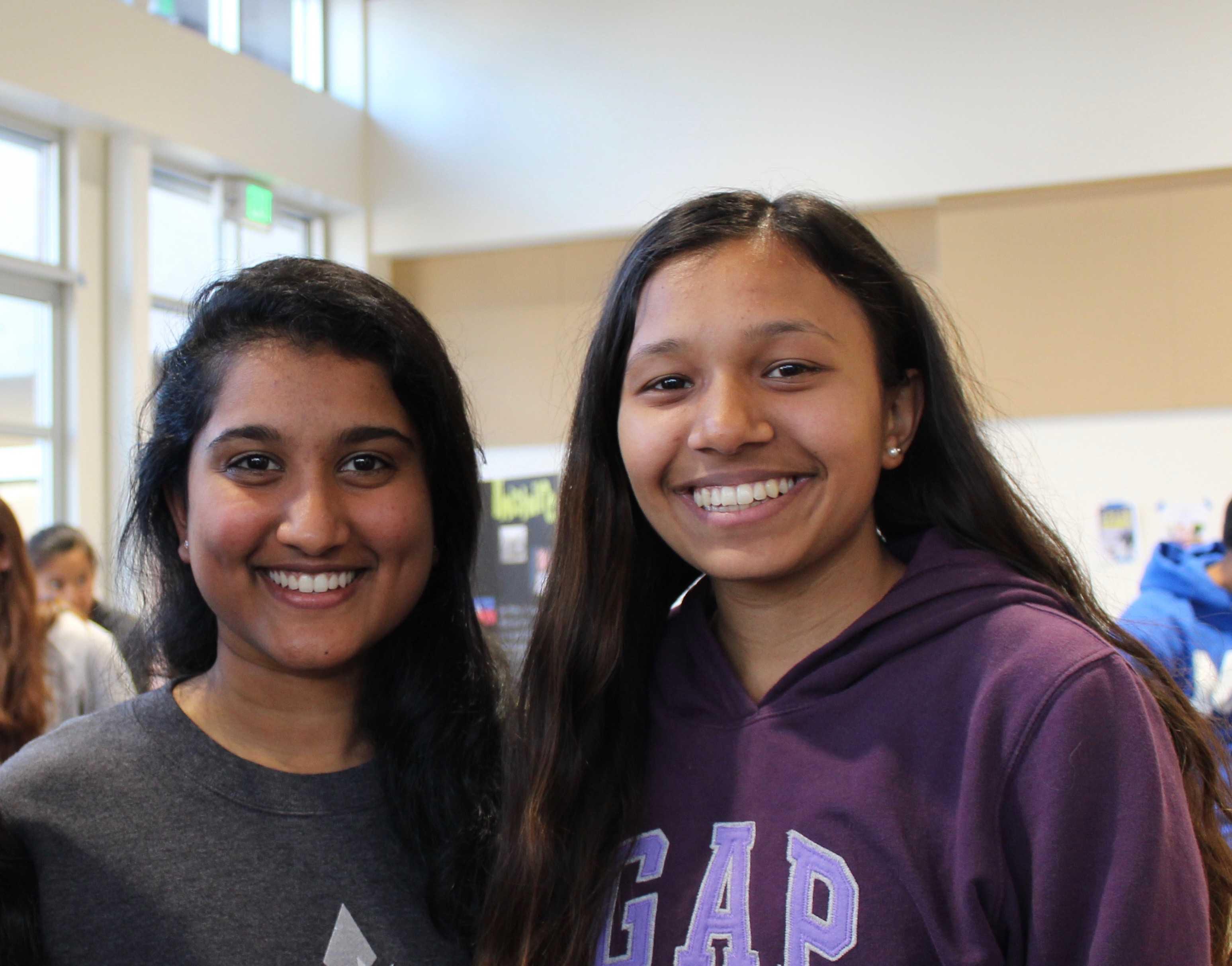Niti and Sindhu