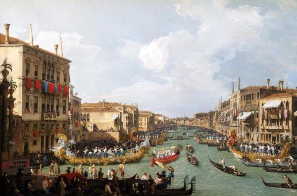 El Triunfo Del Paisaje Italiano Ii Canaletto