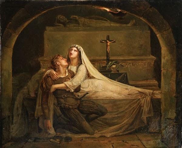 3. La muerte de Romeo y Julieta, Diebolt, 1825