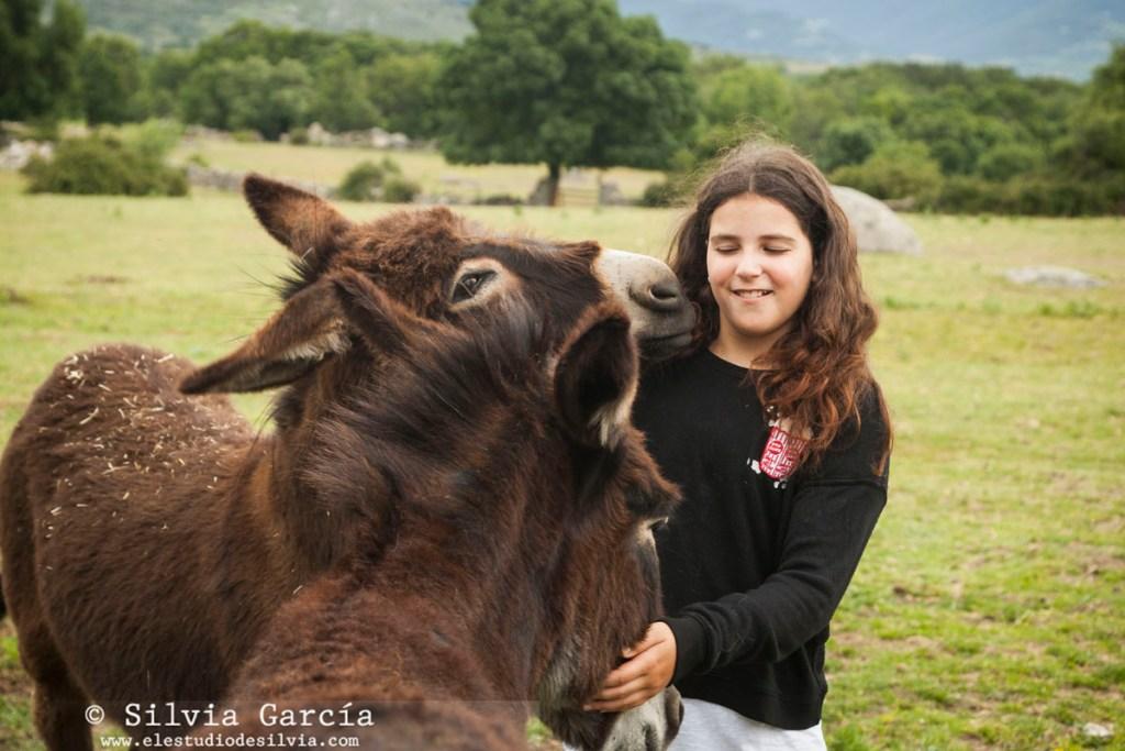 verano 2017, fotografia infantil Madrid, fotos infantiles, fotos de niños, fotografa infantil Madrid, sesiones infantiles Moralzarzal, sesiones en exteriores Sierra de Madrid, burros, fotos con burritos, fotos en el campo