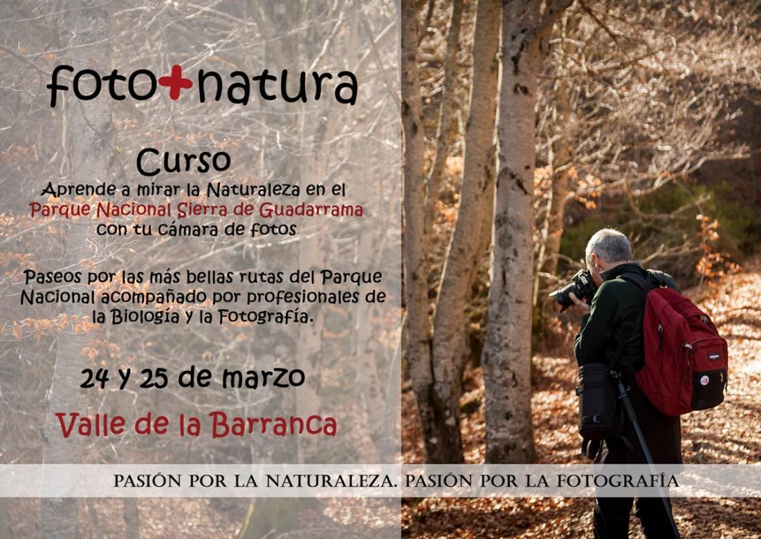 curso de fotografía y naturaleza, Sierra de Guadarrama, Parque Nacional Sierra de Guadarrama, La Barranca,